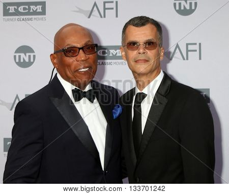 LOS ANGELES - JUN 9:  Paris Barclay, Christopher Mason at the American Film Institute 44th Life Achievement Award Gala Tribute to John Williams at the Dolby Theater on June 9, 2016 in Los Angeles, CA