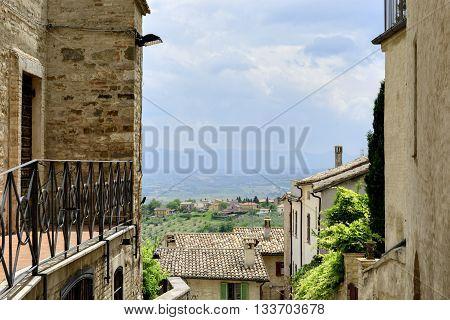 View Through Housing Alley