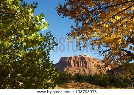 Hills in Indian Creek, near Canyonlands, Utah, USA.