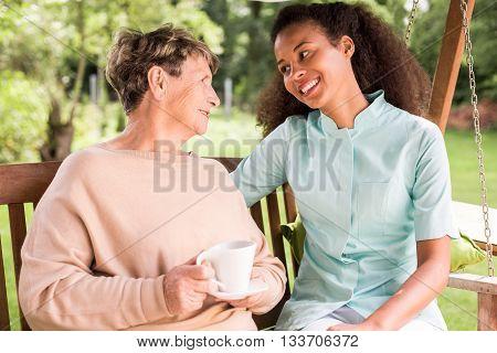 Positive Relation Patient Carer