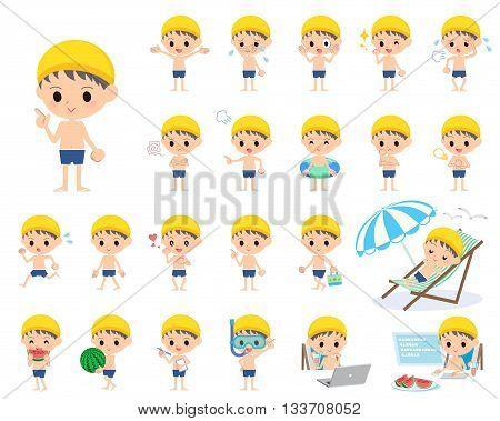 Boy Regular Swimwear Style