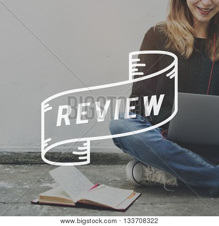 Review Audit Critic Evaluate Report Rethink Concept