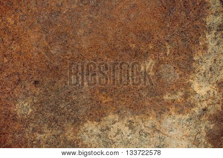 old rusty and corrosive sheet metal. background