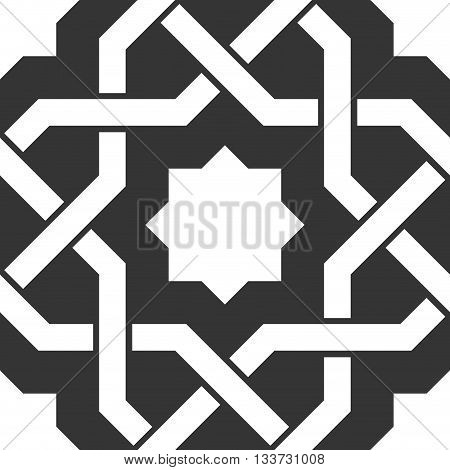 braid pattern, seamless vector background quality illustration