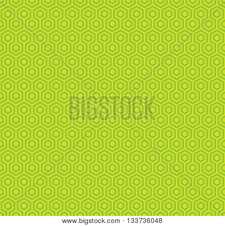 Abstract geometric hexagon seamless patterns textured background, Vector illustration with swatch