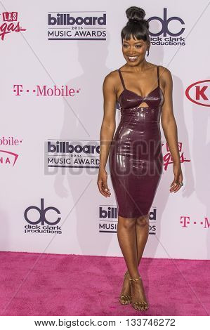 LAS VEGAS - MAY 22 : Actress/recording artist Keke Palmer poses in the press room at the 2016 Billboard Music Awards at T-Mobile Arena on May 22 2016 in Las Vegas Nevada.