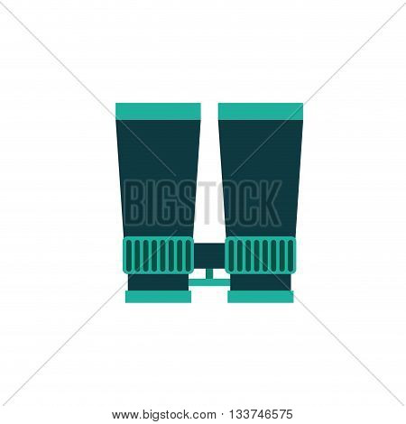 binoculars isolated design, vector illustration eps10 graphic