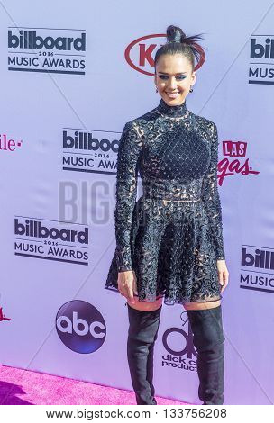 LAS VEGAS - MAY 22 : Actress Jessica Alba attends the 2016 Billboard Music Awards at T-Mobile Arena on May 22 2016 in Las Vegas Nevada.