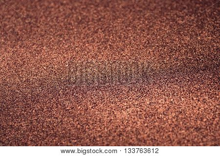 copper glitter texture abstract background for design