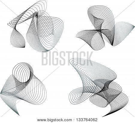 Blend Design Elements Grey Set Of Meshes
