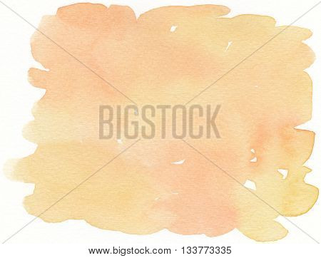 smooth surface abstract yellow tones watercolor background