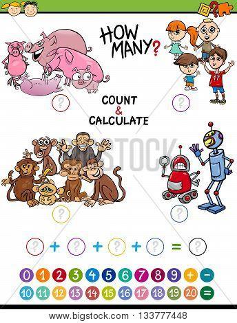 Mathematical Activity For Children