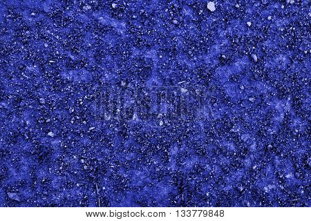 Texture of the soil, nature background, blue pattern, excellent texture for use in your creative project, deep blue