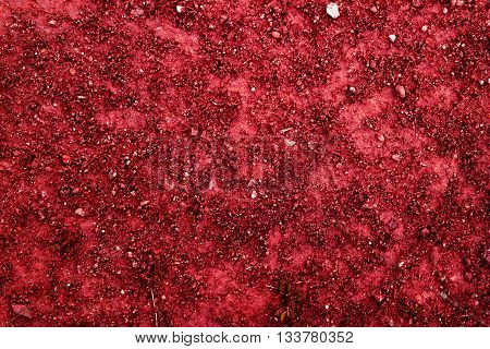 Texture of the soil, nature background, red pattern, excellent texture for use in your creative project