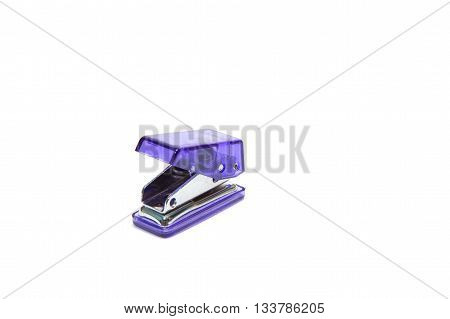 Drilling paper equipment on white background , isolated