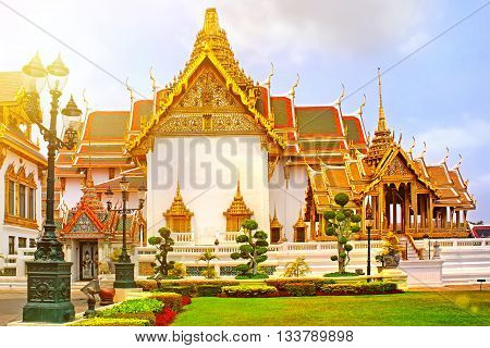 Thailand, Bangkok, Wat Phra Kaew, The Royal Grand Palace