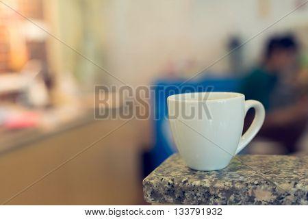 Americano Coffee On Table