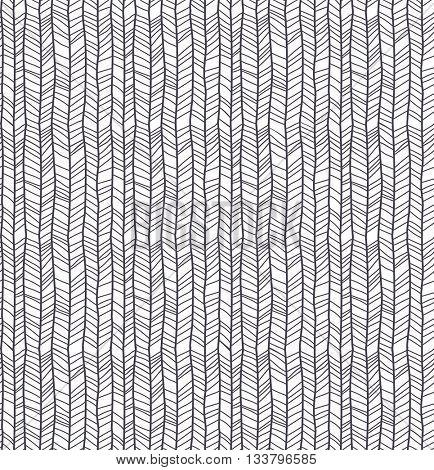 Abstract pattern of herringbone lines, eps10 vector
