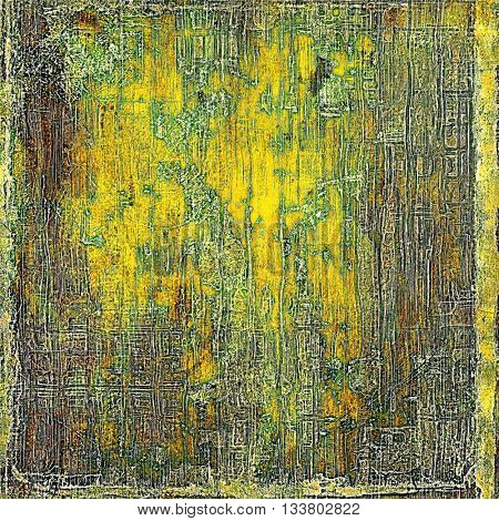 Hi res grunge texture or retro background. With different color patterns: yellow (beige); brown; green; gray