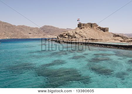 Salah El Din Castle Near Taba In Egypt