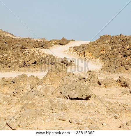 In Oman  The Old Mountain  Gorge