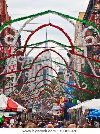 Feast of San Gennaro, NY, NY