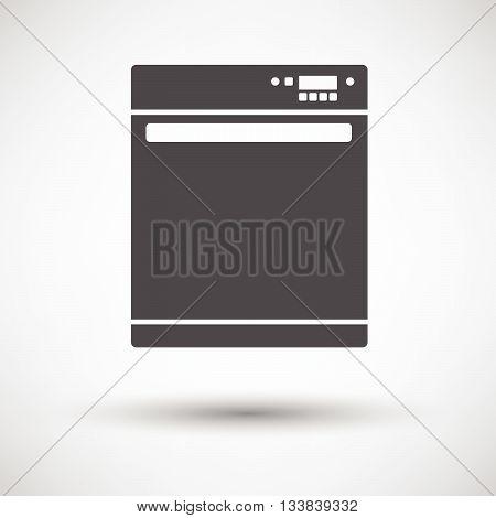 Kitchen Dishwasher Machine Icon