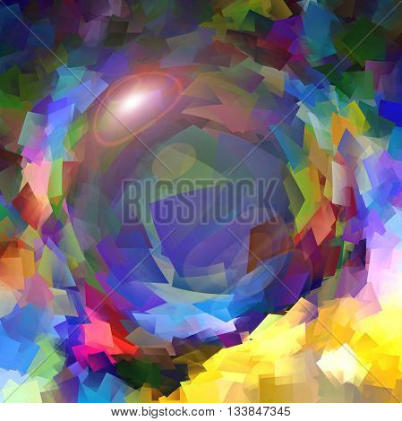 Abstract coloring background of the metallic something gradient with visual pinch effects,good for your design