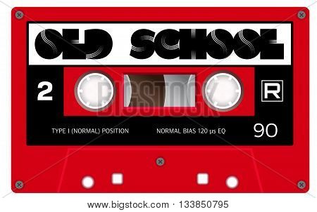 Vintage Old School Cassette With Name On It