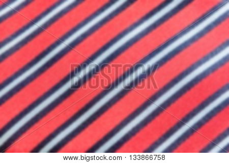 Defocused Background Of A Necktie Texture