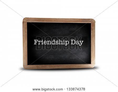 Friendship Day  on a blackboard