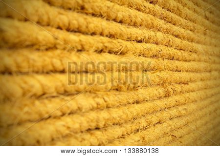 Rope sack brown lines for the background.