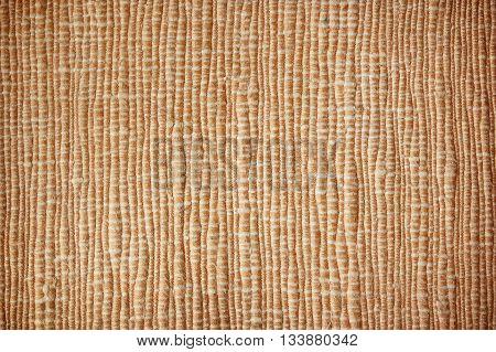 Fabrics woven with fibers colored dark brown.