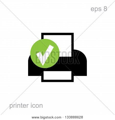 Simple Printer Icon