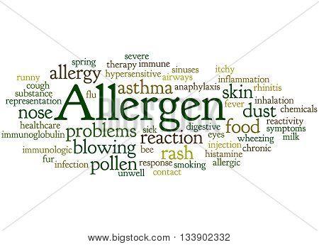 Allergen, Word Cloud Concept 4