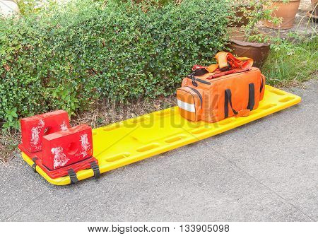stretcher for emergency paramedic service, Emergency medical equipment(select focus stretcher)