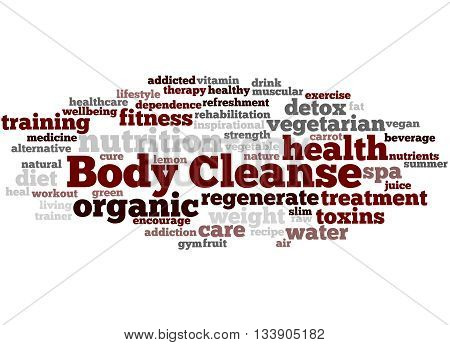 Body Cleanse, Word Cloud Concept 4