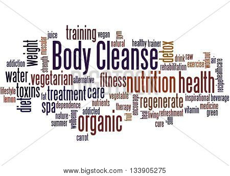 Body Cleanse, Word Cloud Concept 6
