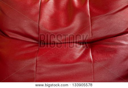 abstract background of red sofa bed surface
