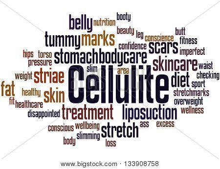 Cellulite, Word Cloud Concept