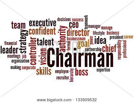 Chairman, Word Cloud Concept 9
