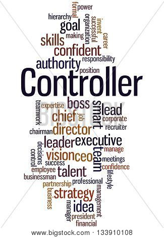 Controller, Word Cloud Concept 2