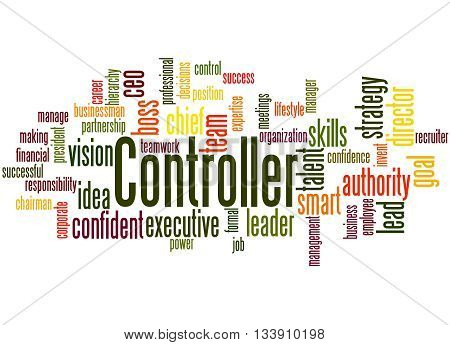 Controller, Word Cloud Concept 4