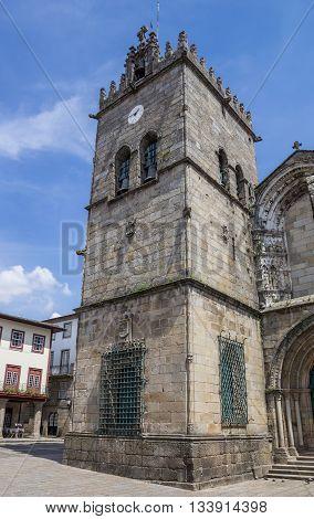 Nossa Senhora Da Oliveira Church In Guimaraes