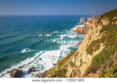 Cabo da Roca the western point of Europe - Portugal