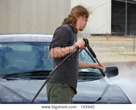 Pressure Clean Car