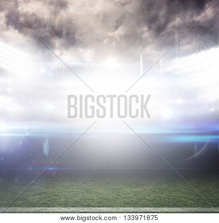 American football arena