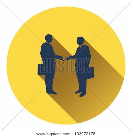 Icon Of Meeting Businessmen