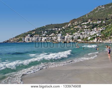 Clifton Beach, Cape Town South Africa