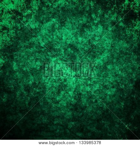 abstract colored scratched grunge background - green and blue